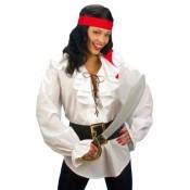 Piratenblouse dame