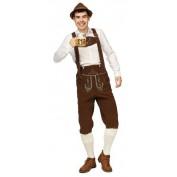 Tiroler broek Heinz bruin