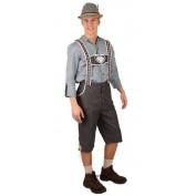 Tiroler Kostuum Bavaria Broek en Blouse