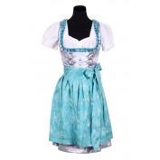 Tiroler jurk met schort luxe