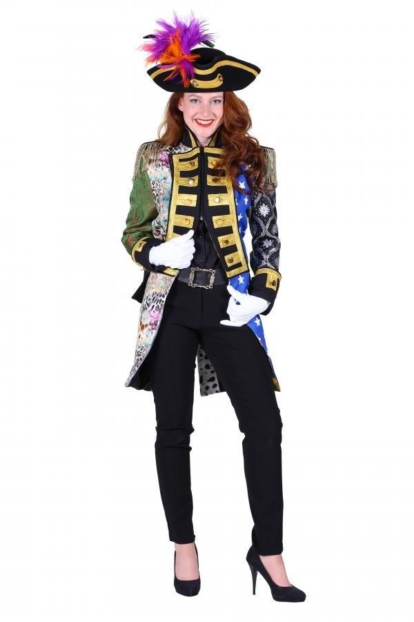 Admiraals Jas Patchwork voor dames | Carnavalsland